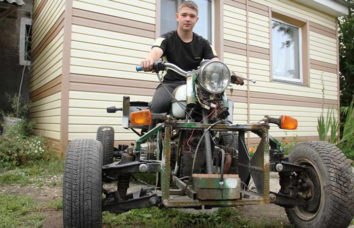 Сделать квадроцикл своими руками из мотоцикла 37