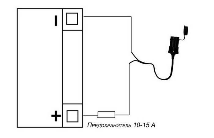 Как сделать прикуриватель для аккумулятора 67