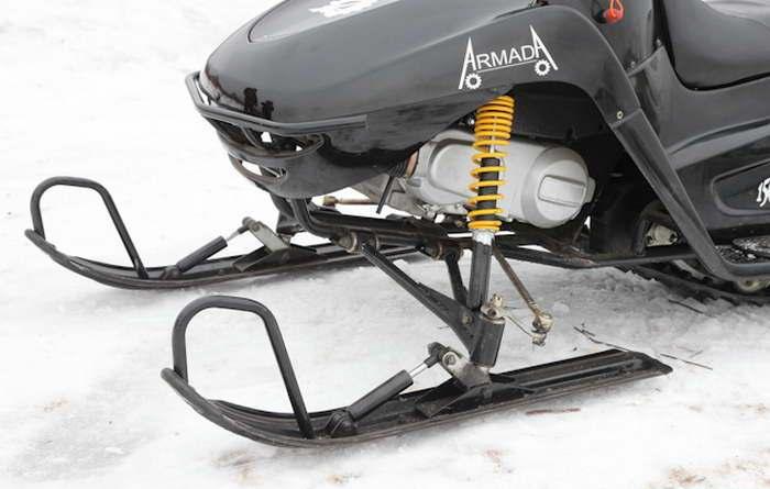 Когда надо менять масло в двигателе в новом снегоходе динго